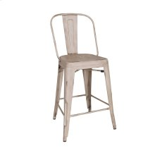 Bow Back Counter Chair - Vintage Cream (RTA)