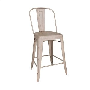 Liberty Furniture IndustriesBow Back Counter Chair - Vintage Cream (RTA)