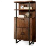 Terra Vista Secretary Bookcase Casual Walnut finish