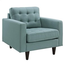Empress Upholstered Armchair in Laguna Product Image