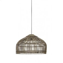 Hanging lamp 50x38 cm ASCELLI rattan natural