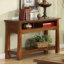 Craftsman Home - Console Table - Americana Oak Finish