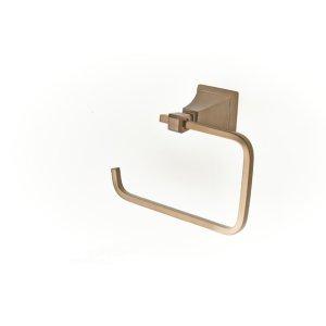 Leyden Paper Holder/Towel Ring - Bronze