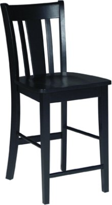 "24"" San Remo Stool Black"