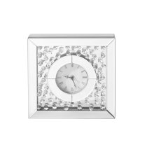 Modern 10 in. Contemporary square table&wall clock