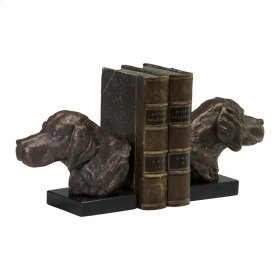 Hound Dog Bookends S/2