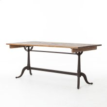 Bleached Pine Finish Parisian Dining Table