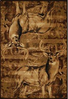 Contours/dcbw American Buck Rugs