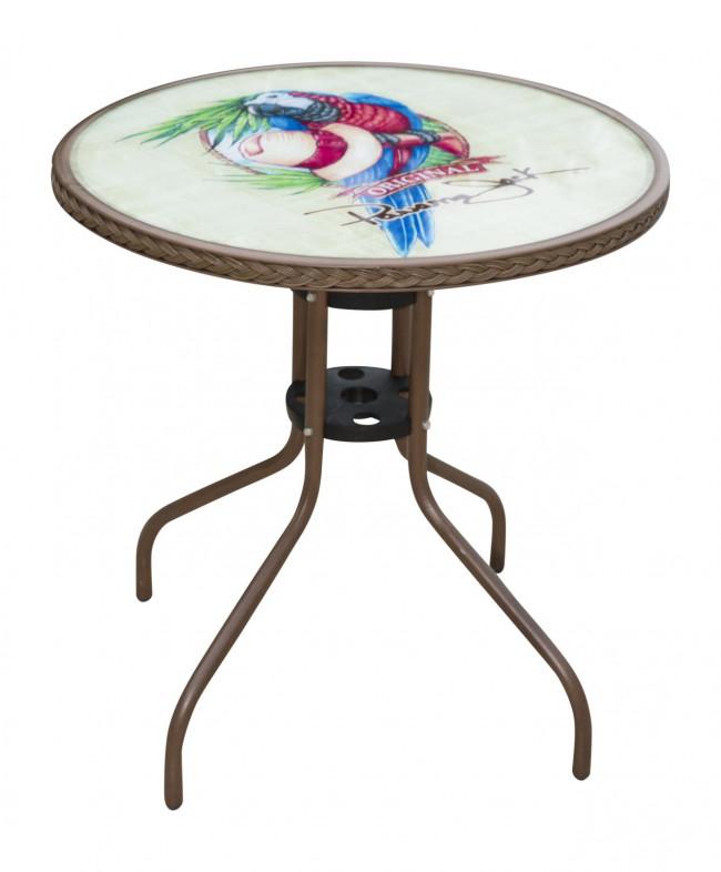 ... Patio Furniture; Pelican Reef PJO9001ESPBTP. Panama Jack Café Parrot  Bistro Table