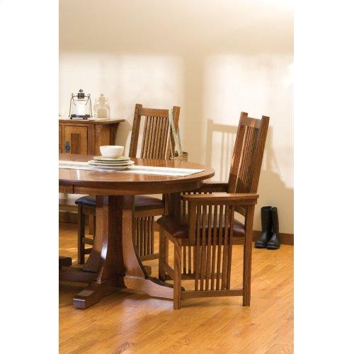 Prairie Mission Arm Chair, Fabric Cushion Seat
