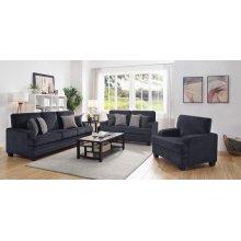 Stewart Casual Grey Sofa