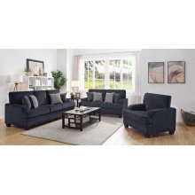 Stewart Casual Grey Sofa