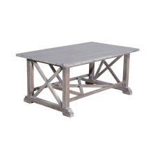 Coffee Table, Available in Vintage Smoke Finsih Only.