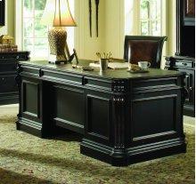 "Telluride 76"" Executive Desk w/Wood Panels"