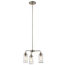 Braelyn Collection Braelyn Chandelier/Semi Flush 3 Light CLP