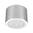 "Round SEGNI ceiling-mounted shower head 1/2"" connections Projection from ceiling 10-5/8"" Max flow rate 2 Product Image"