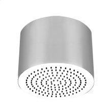 "Round SEGNI ceiling-mounted shower head 1/2"" connections Projection from ceiling 10-5/8"" Max flow rate 2"