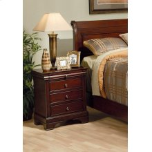 Versailles Three-drawer Nightstand With Tray