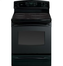"GE Profile Series 30"" Free-Standing Electric Range with Warming Drawer"