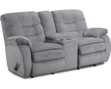 Fresno Reclining Rocking Console Loveseat