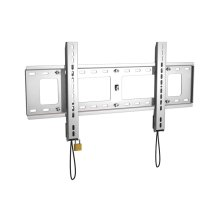 Plano 100 Large Fixed TV Mount, Silver