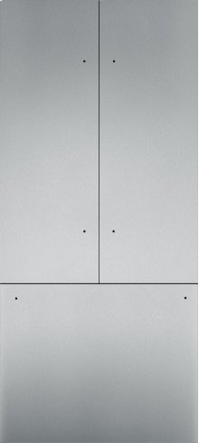 "36"" Stainless Steel Panel Set for French Door - Flat TFL36IT800"