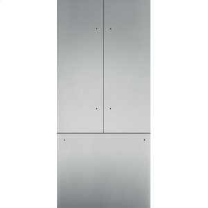 "Thermador36"" Stainless Steel Panel Set for French Door - Flat TFL36IT800"