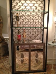 Perry Mirror Etagere