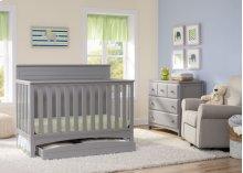 Fancy 4-in-1 Crib - Grey (026)