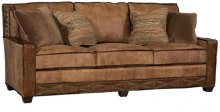 Savannah Leather Fabric Sofa