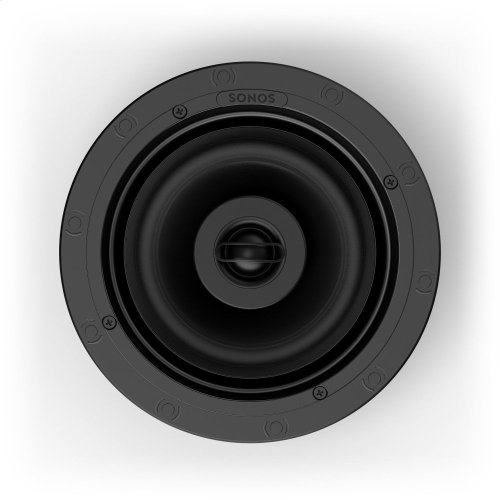 Black- The architectural speakers for ambient listening.