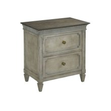 Ax Two Drawer Nightstand