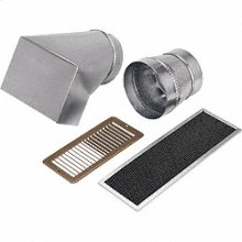 Non-ducted recirculating kit