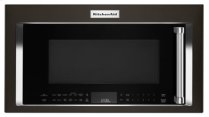 "1000-Watt Convection Microwave with High-Speed Cooking - 30"" - Black Stainless"