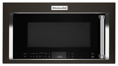1000-Watt Convection Microwave Hood Combination - Black Stainless Product Image