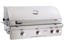 "Cooking Surface 648 sq. inches (37"" x 18"") Built-in Grill"