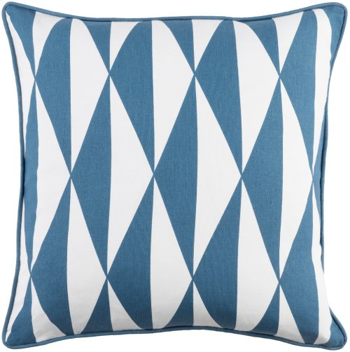 "Inga INGA-7029 18"" x 18"" Pillow Shell with Polyester Insert"