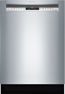 """24"""" Recessed Handle Dishwasher 800 Series- Stainless steel SHE68TL5UC"""