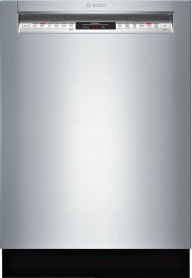 "24"" Recessed Handle Dishwasher 800 Series- Stainless steel SHE68TL5UC"