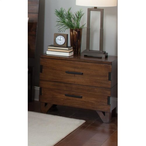 Yorkshire Two-drawer Nightstand