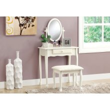 VANITY SET - 2PCS SET / ANTIQUE WHITE