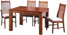"42/48-2-12"" Rectangular Dining Table"
