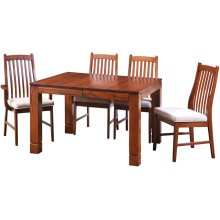 "42/48-2-12"" Rectangular Dining Table"