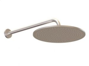 "12"" Shower Rainhead, Wall Mount Arm - Brushed Nickel Product Image"