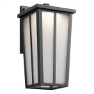 Amber Valley Collection Amber Valley Small LED Wall Lantern in BKT Product Image