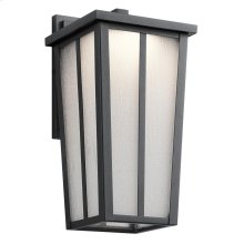 Amber Valley Collection Amber Valley Small LED Wall Lantern BKT