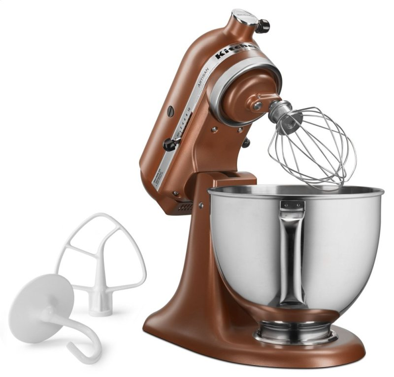Artisan Series 5 Quart Tilt Head Stand Mixer Copper Pearl