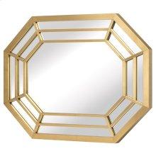 Octavia Wall Mirror  Gold