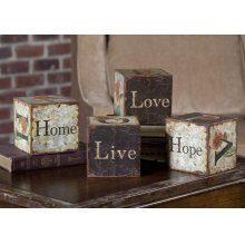 Love Letters Accessories, S/4