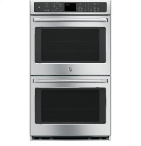 10.0 cu ft (5 Upper/5 Lower) Built-In Double wall oven, True european convection with direct air (both ovens), Wifi connected